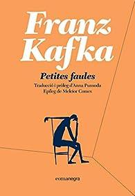 Petites faules: 2 par  Franz Kafka