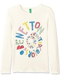United Colors of Benetton T-Shirt Longsleeve, Camiseta para Niñas