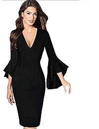 Robe de Soirée Robe Femmes Hiver Automne Printemps Femme Robes Pin-up Robe  De Soirée 3f64f8f9be27