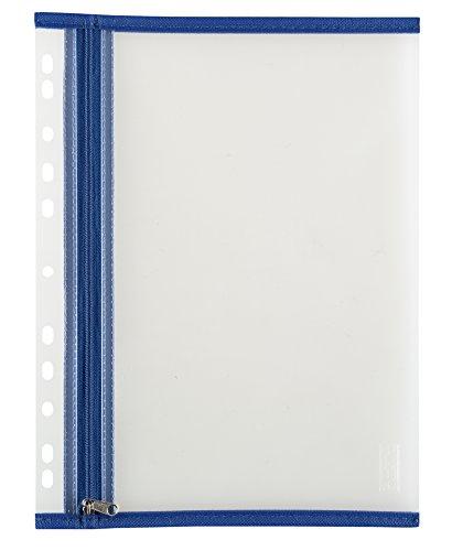 Idena 354081 - Utensilientasche für DIN A4 mit Abheftung