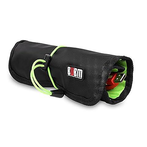 KKmoon BUBM UDJ Kabelorganisator Tasche Lagerung Koffer Rollendes Design Wasserdicht Für USB Kopfhörer Kabel Werkzeug Stift Zubehör