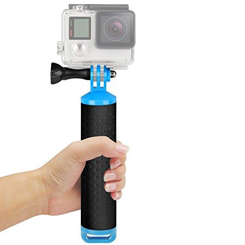 SHOOT Float Grip Galleggiante Mano Portatile Monopiede Stick per GoPro 5/4/3+/3 SJ4000 SJ5000 SJ6000 Xiaomi Xiaoyi Yi 2 4K/ YI 4K+ Camera Accessori Acqua (Blu)