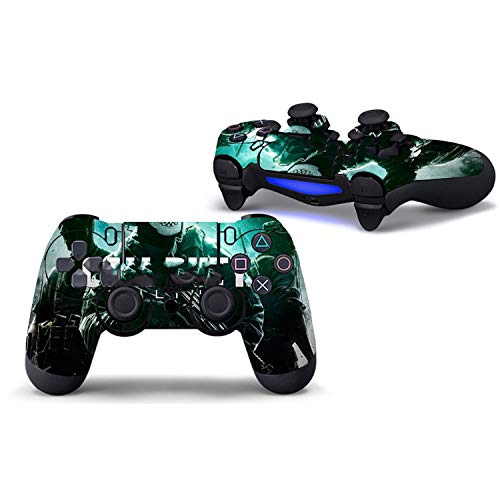 Price comparison product image WELLDRESSED Colorful Style Skin Sticker For PS4 Controller Decal Stickers For Playstation4, 4