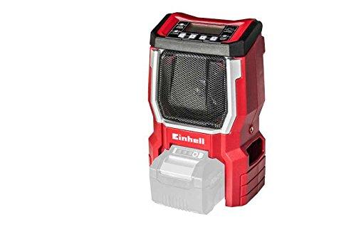 Einhell Radio sans fil sur batterie TE-CR 18 LI Solo - Power X-Change (18V, Fréquence FM 87,5 à...