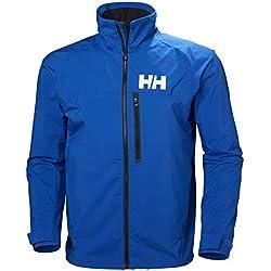 Helly Hansen HP Racing Prueba De Viento Y Respirable Cuello Forro Polar Marina Deportes Navegación Chaqueta Impermeable, Hombre, Olympian Blue, XL