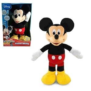 Micky Maus - Kicher Mickey Mouse Plüsch Figur Sound 31cm