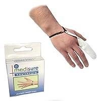 Größe Kleine Medisure FIRSTAID Premium verstellbar wiederverwendbar Medical Schutz weiss Leder Finger Stall preisvergleich bei billige-tabletten.eu