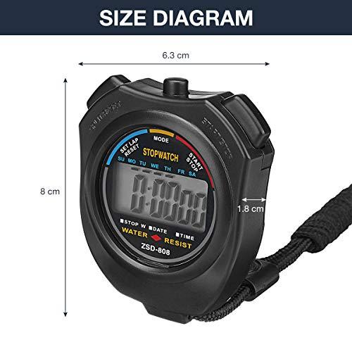 Zoom IMG-2 charminer cronometro digitale sportivo e