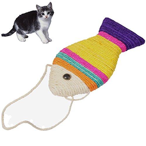 Katzen Kratz Fisch Kratzspielzeug