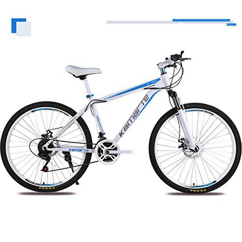 Bdclr 26 21-Gang / 24-Zoll-Mountainbike, Studentenreitscheibenbremsen,Blue,26inch