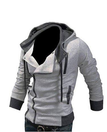 Desmond Miles Kostum New Hoodie Jacke Cosplay Costume (EU L(Tag XXL), light (Assassin Kostüm Creed)