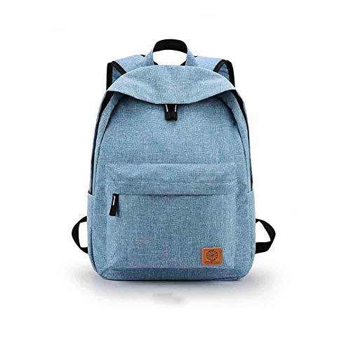 3ecb07e1aafb Lounayy College Simple School Bag Mochila Student College Senderismo Bolsa  USB Diseño De Carga (Color