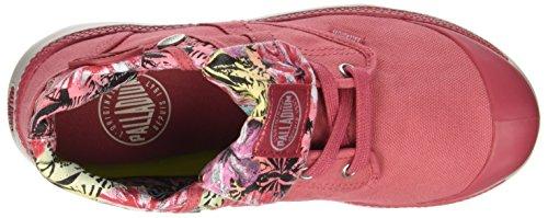 Palladium Palavil Bgy C W, Sneaker a Collo Alto Donna, Grigio Rosa (Garnet Rose/w Ch/hawai Pt)