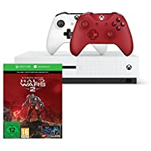 Xbox One S 1TB Konsolen-Bundle inkl. Halo Wars 2:Ultimate Edition + Xbox Wireless Controller in Rot