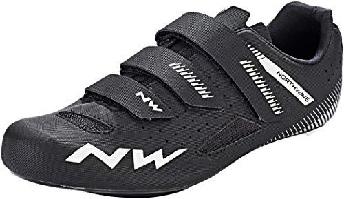 Northwave Core Rennrad Fahrrad Schuhe schwarz 2019: Größe: 49