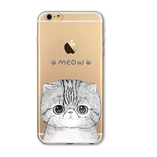 Coque silicone souple iphone 5C ,Grand Chat , cat , animal , noir ,TPU 5C lol cat