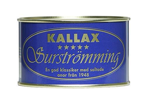 Kallax Surströmming 300g Dose (fermentierte Heringe) -