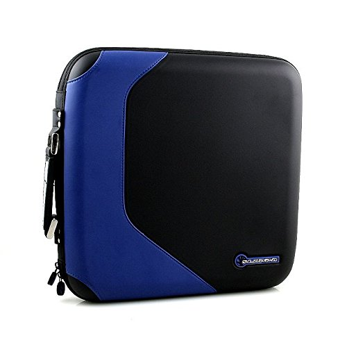 slappa-sld2i1603-160-d2i-funda-para-cd-y-dvd-color-azul