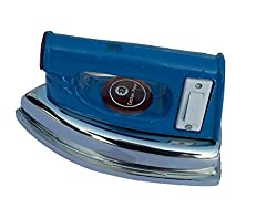 Eashan Power,EPA-27 450 watt, Damini Side Switch Electric Dry Iron(Blue & Silver)