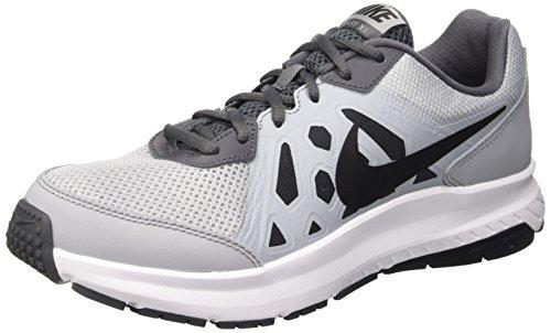 Nike Herren Dart 11 Laufschuhe, Grau (Wolf Grey/Black-Dark Grey-White 014), 43 EU (Weiße Nike-dart)