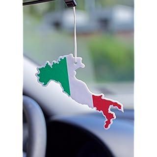 Duftbaum Autoduft Lufterfrischer für das Auto Flagge Tricolore Trikolore Italien verschiedene Gerüche 3 Stück im Set