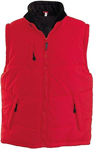 Kariban - Bodywarmer épais doublé polaire Alaska Kariban Red / Black