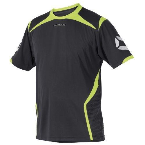 Stanno Torino K.A.-Camiseta Anthracite de Neon Yellow, Color Anthrazit-Neon Gelb, tamaño Large