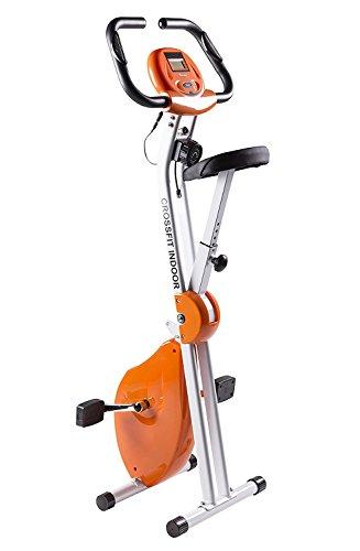 Bicicleta Estática Plegable CrossFit con Chasis Reforzado de Doble Cuerpo | Hasta 110Kg | Máximo Ahorro...