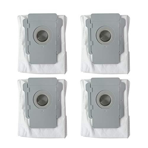 Storerine Ersatzbeutel für die Kehrmaschine (4er-Pack) Base Robot automatische Schmutzentsorgungsbeutel Plus -