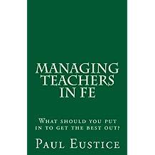 Managing Teachers in FE