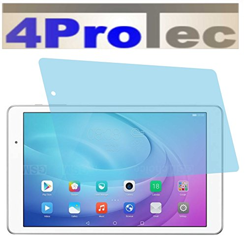 4ProTec 2 Stück GEHÄRTETE ANTIREFLEX Bildschirmschutzfolie für Huawei MediaPad T2 10.0 Pro Displayschutzfolie Schutzhülle Bildschirmschutz Bildschirmfolie Folie