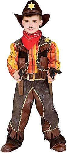 Veneziano Carnevale Venizano CAV50505-XXXL - Kinderkostüm Cowboy - Alter: 11-12 Jahre - Größe: ()