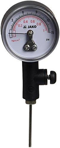 JAKO Equipment Balldruck Manometer, Schwarz, 2111 Fußball-luftdruckprüfer