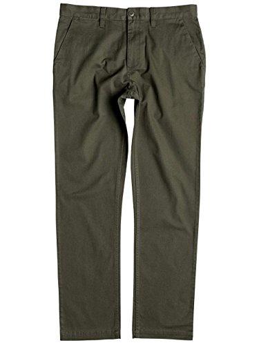 DC Universe -  Pantaloni da abito  - Uomo Fatigue verde