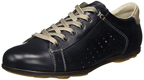 LLOYD Herren Barney Sneaker, Blau (Midnight/Sand), 46 EU - Midnight Sand