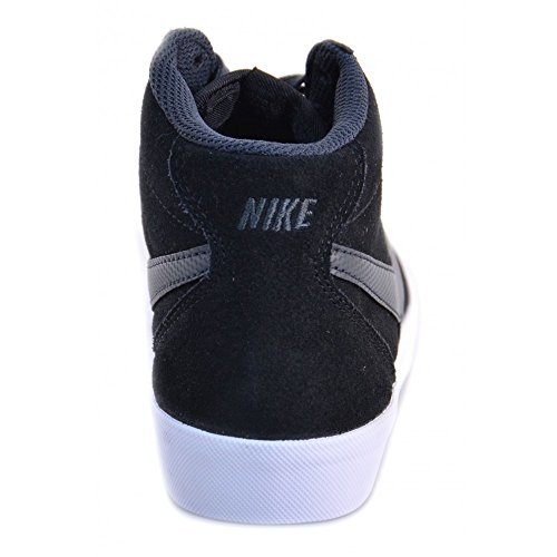 Nike - Nike Bruin Mid (GS) Schuhe Schwarz Leder 577865 Schwarz