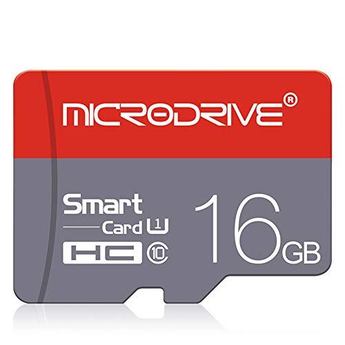 LYXLQ Speicherkarte, Hochgeschwindigkeits-TF-Speicherkarte 8 GB / 16 GB / 32 GB / 64 GB / 128 GB Micro-SD-Karte,16GB