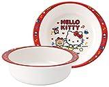Skater M340 - Ciotola in melamina Hello Kitty Cookie Sanrio, 260 ml