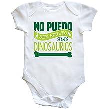 HippoWarehouse no puedo ser adulto seamos dinosaurios body bodys pijama niños niñas unisex
