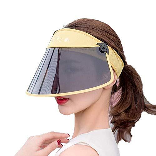 Hüte Sun CapVisor UV-Schutz Einstellbarer Winkel Mit Tinted Transparent Cover Flexibles Stirnband(Farbe: 8, Größe: 54-60cm) (Visier 7 Bildschirm Zoll)