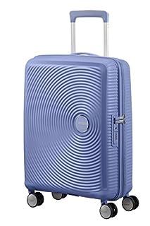 American Tourister Soundbox Spinner Espandibile Bagaglio A Mano, 55 cm, 35,5/41 L, 2,6 Kg, Blu (Denim Blue) (B079M38H1H) | Amazon price tracker / tracking, Amazon price history charts, Amazon price watches, Amazon price drop alerts