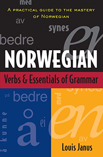 Norwegian Verbs And Essentials of Grammar (Verbs and Essentials of Grammar Series)