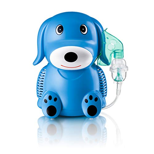 Only For Baby Blue Puppy Inhaliergerät Kinder Inhalator Aerosol Therapie Vernebler Inhalation Kompressor Aerosolvernebler Inhalationsgerät -