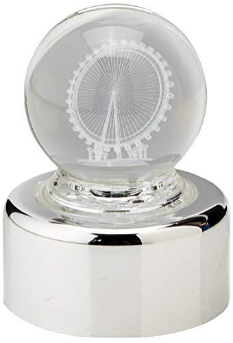 MusicBox Kingdom 10601Sfera di Cristallo Ruota panoramica–Crystal Ball Ruota panoramica Il Gioco Danube, Blu