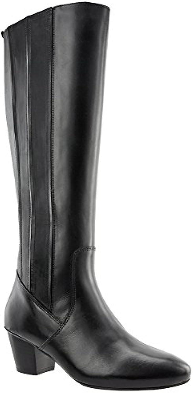 JJ Footwear - Botas para mujer, color negro, talla 37