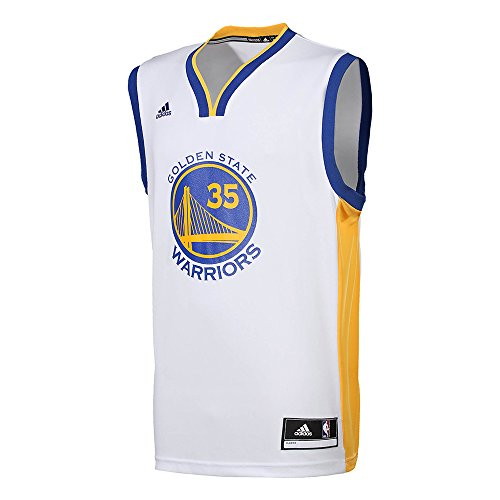 adidas Int Replica Jrsy Maillot Golden State Warriors de basketball pour homme, Blanc (Nba Golden State Warriors 2-3A9), XS