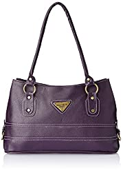 Fostelo Women's Handbag Purple (FSB-205)