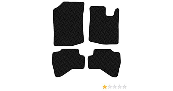 VAUXHALL MOVANO Fully Tailored 1 Piece CARPET BLACK Car VAN Mat Set 03-10