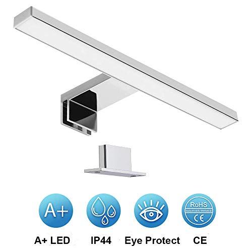 Galapara Aplique Espejo Baño LED, Luz Espejo Baño 30.0 * 10.2 * 4.0cm, Lámpara de Espejo Led 6000K...