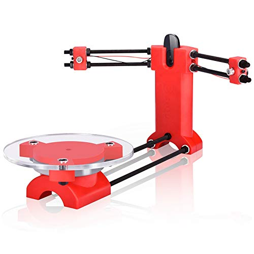Monland Open Source DIY 3D Scanner Dreidimensionaler Scanner Spritzguss Kunststoffteile Desktop für Reprap 3D Drucker